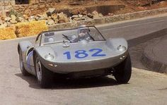1965 Targa Florio : Gerhard Mitter, Porsche 904/8 Bergspyder #182 (#906-008/S-VP102), Porsche System Engineering, 2nd (with Davis). (ph: © Porsche)