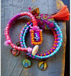 Gypsy Bracelet Set /  Gypsy Bracelet Set // pulseras colores