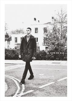 "Michael Morgan in ""The Importance of Being"" shot in the streets of North London by Ian Cole for Client Magazine #7 Issue - Autumn 2012"