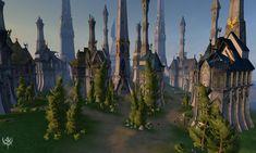 Resultado de imagen de elven castle minecraft Fantasy city Elven city Elven