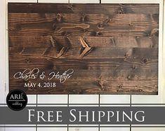 Wood Guest Book | Wedding Guest Book | Alternative Guest Book | Gest Book | Custom wood sign | Wedding Gift | Wood wedding Gift