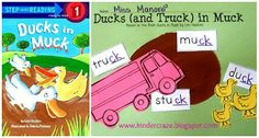 Word Work: Ducks (and Truck) in Muck Craftivity to accompany the book Ducks in Muck Kindergarten Language Arts, Kindergarten Reading, Guided Reading Lesson Plans, Make Way For Ducklings, Spelling Patterns, Reading Response, Reading Centers, Word Families, Word Work