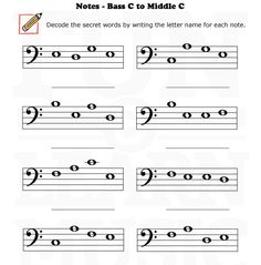 intro to note names kids worksheet - Google Search