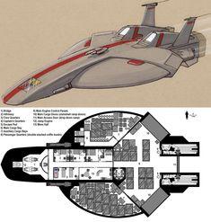 Dark Nova: Goshawk Deckplans by ~Breandan-OCiarrai on deviantART