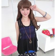Buy '59 Seconds – Crochet-Knit Asymmetric-Hem Top' with Free International Shipping at YesStyle.com. Browse and shop for thousands of Asian fashion items from Hong Kong and more!