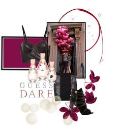 Heat Up Your Valentine's Day with GUESS DARE: Contest Entry by divatmalom featuring a guess? Guess Gifts, Dares, Polyvore Fashion, Valentines Day, Fashion Boards, Make It Yourself, Design, Women, Clothes