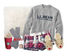 """""""{ & to all a good night }"""" by callingmybluff ❤ liked on Polyvore featuring Pottery Barn, Fat Face, Barbour and Essie"""