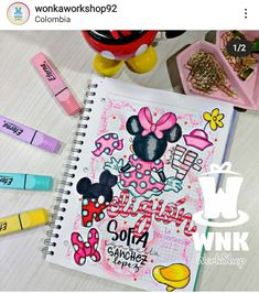 Notebook, Kids Rugs, Lettering, Instagram, Creative Notebooks, Kid Friendly Rugs, Drawing Letters, The Notebook, Exercise Book