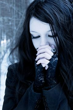 Gothic girl ( Get your goth on with gothic punk clothing - a favorite repin of www.vipfashionaustralia.com )