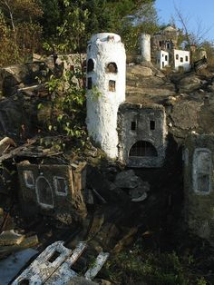 Holy Land, U.S.A.-  (abandoned religious theme park in Waterbury, Conn.)