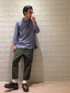 RYO-matsu│OLIVER PEOPLESのメガネコーディネート