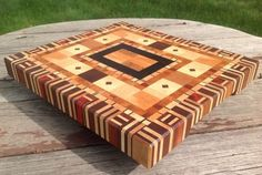 Progression - An End Grain Board from the Bin by JL7 on Lumberjocks.com