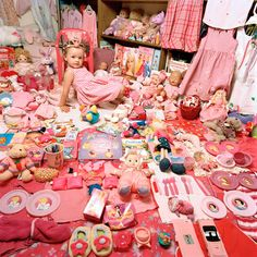 June 24th is National Pink Day. The Pink & Blue Project, by artist JeongMee Yoon.