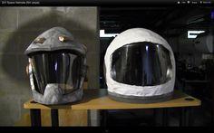 DIY Tutorial: DIY Astronaut Costume / DIY Space Helmets (film props) - Bead&Cord