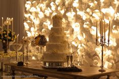 Painel de Flores de Papel em Casamento de Luxo ~ Senhora Inspiração! Blog
