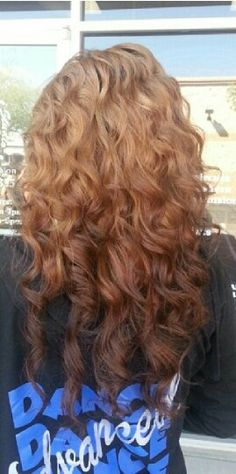 Warm blonde to warm brown reverse ombre. Level 7 to level 5 in warm tones