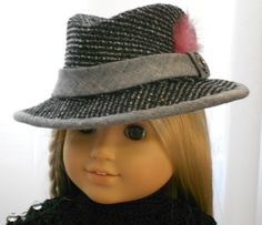 American Girl Doll Clothes - Doll Hats - Holywood Series - American Girl Private Eye by Capecodcuriosities | Etsy