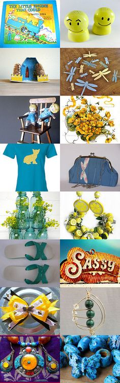 THE LITTLE ENGINE THAT COULD..........Gratitude Treasury by Pat Peters on Etsy--Pinned with TreasuryPin.com