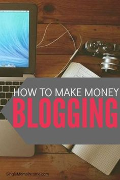 Do you want to make money blogging? It can take years of blogging to make your first dime but that doesn't mean you can't try. Here are 5 ways to make money blogging. Making Money, Making Money ideas, Making money online