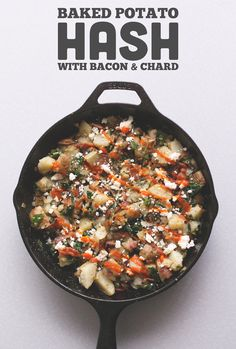 Baked Potato Hash // Wit & Vinegar