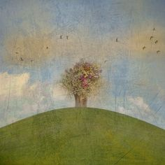 'The Enchanted Hill' by artskratches on artflakes.com as poster or art print $22.17