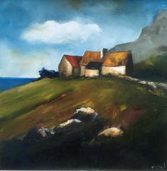 Irish contemporary landscape artist, art source, artist business mentor and artist website designer. Living on Achill Island, Co.Mayo where he runs annual summer painting workshops and art classes. Author of An Artists Business Guide - www.anartistsbusinessguide.com