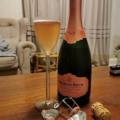 It's soooo cold ❄  I remember in December we  were visiting the Midlands and it was soooooo cold! But I just had to have a glass... A very tall glass of @grahambeckbubbly #BlissNectarRose (can't even  fit the glass on the frame 😂) Sitting by the fireplace and sipping on bubbly now that's life... I miss just going away.  Hope you are keeping warm.  #TheBubblyCircle #TheBubblyPassionista #TheBubblyQueen #BubblyLovers #ChampagneLover #CapClassique #MCC #Prosecco #Bubbles #Champagne… Sparkling Wine, Prosecco, Just Go, Bliss, Alcoholic Drinks, Champagne, Bubbles, December, Cold