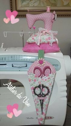 Para decorar tortas Sewing Tutorials, Sewing Crafts, Sewing Projects, Sewing Patterns, Sewing Caddy, Sewing Aprons, Sewing Kit, Hand Sewing, Sewing Room Decor