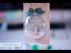 12 Tage Weihnachten 2014 - Geschenkanhänger Schneemannkugel - YouTube