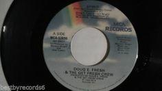Doug E. Fresh Get Fresh Crew: Spirit (Ghostbusters Soundtrack)  rare Rap 45  MCA