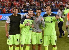 Markovic, Moreno, Coutinho and Firmino