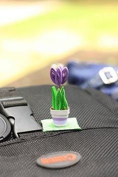 Who knew quilling could be soooo cute.  the Arts in me: 3D quilling