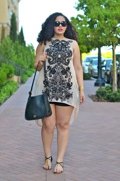 Cute Outfits For Plus Size Women. Graceful Plus Size Fashion Outfit Dresses for Everyday Ideas And Inspiration. Plus Size Refashion. Curvy Girl Fashion, Plus Size Fashion, Plus Size Dresses, Plus Size Outfits, Mode Xl, Moda Feminina Plus Size, Plus Size Summer Outfit, Look Plus Size, Stylish Plus
