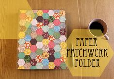 How To: Paper Patchwork Folder & Giveaway by MoonmuM ▽▼▽ My Poppet : your weekly dose of crafty inspiration