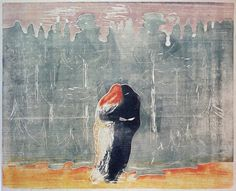 Edvard Munch - To the Forest [1914-1916]