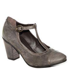 #Decolletè a T #Khrio in camoscio e pelle marrone http://www.tentazioneshop.it/scarpe-khrio/decollete-24534-marrone-khrio.html