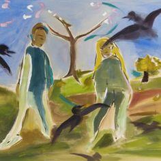 Image result for sophie von hellermann Naive, Primitive, Painting, Image, Art, Art Background, Painting Art, Kunst, Couture Facile