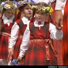 The Latvian Song and Dance Festival is held every 5 years in Riga.