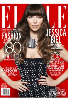 Presenting Jessica Biel, ELLE's January cover star