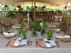 Carpa tenso, Finca la Concepcion Marquee Wedding, Wedding Table, Green Flowers, Beige, Rustic, Table Decorations, Home Decor, Wedding Tables, Country Primitive