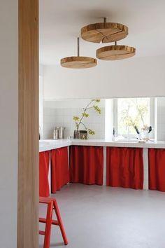 Rideaux de cuisine on pinterest - Rideaux originaux pour cuisine ...