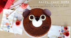 Angel Cake Kuma | Ciel Pâtisserie