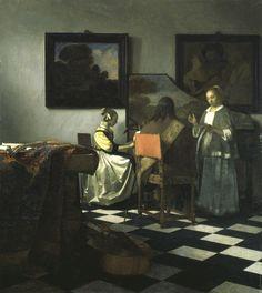 El Concierto de Johannes Vermeer.