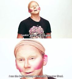 Every time I do my makeup.