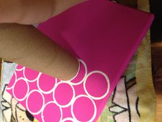 paint canvas, make dots with old toilet paper rolls, & glue on a wooden letter