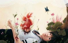 Juxtapoz Magazine - Update: Paintings by Japan's Ai Shinohara
