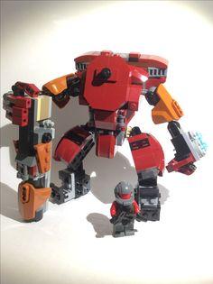 Lego Titanfall 2. Scorch Prime.