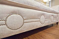Nail Head Trim on Sofa via studio|ten|25
