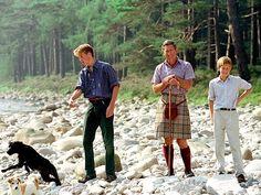 Prince Charles, Prince Harry, Prince William