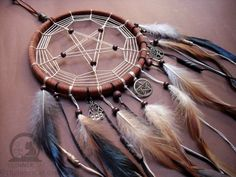 The Pentacle Dream Catcher (Hand Made) by TheInnerCat on DeviantArt